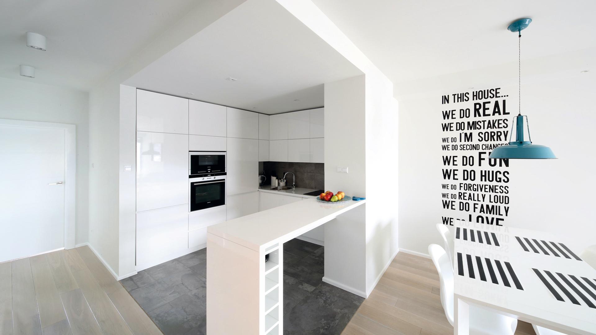 Wnętrza minimalistyczne